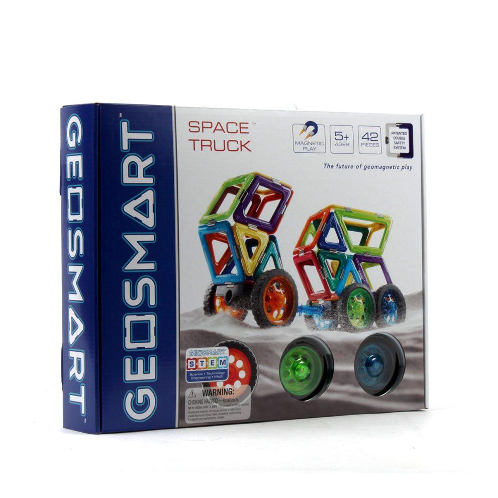 geosmart space truck magnetbaukasten 1