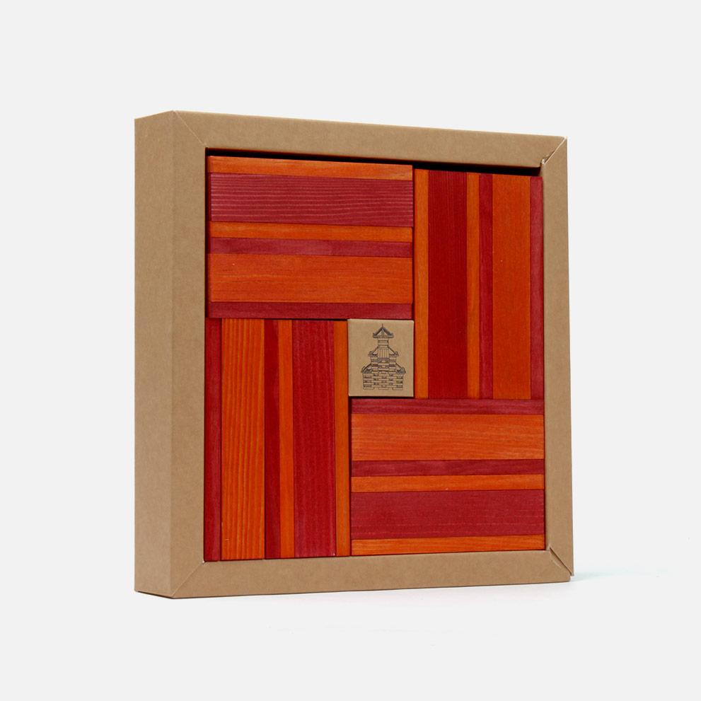 Kapla N°22 (rot - orange)