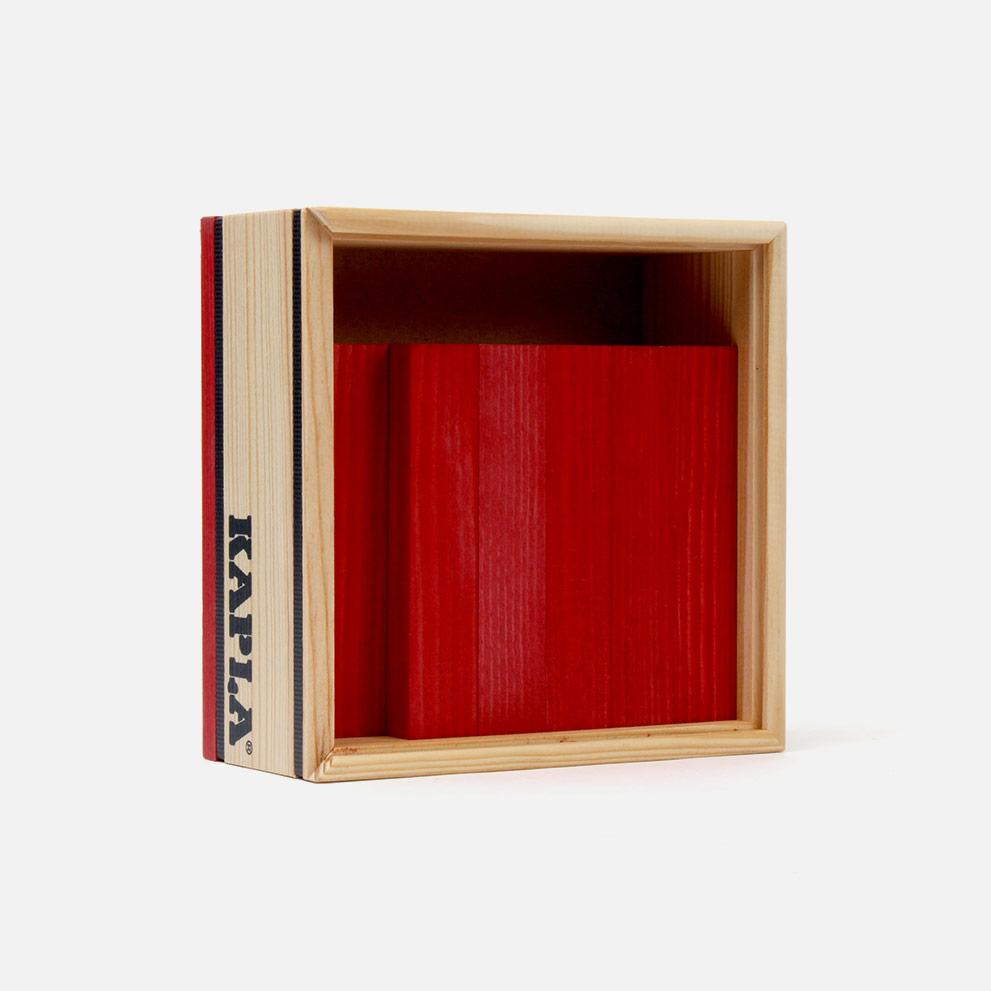 Kapla 40 Bausteine rot