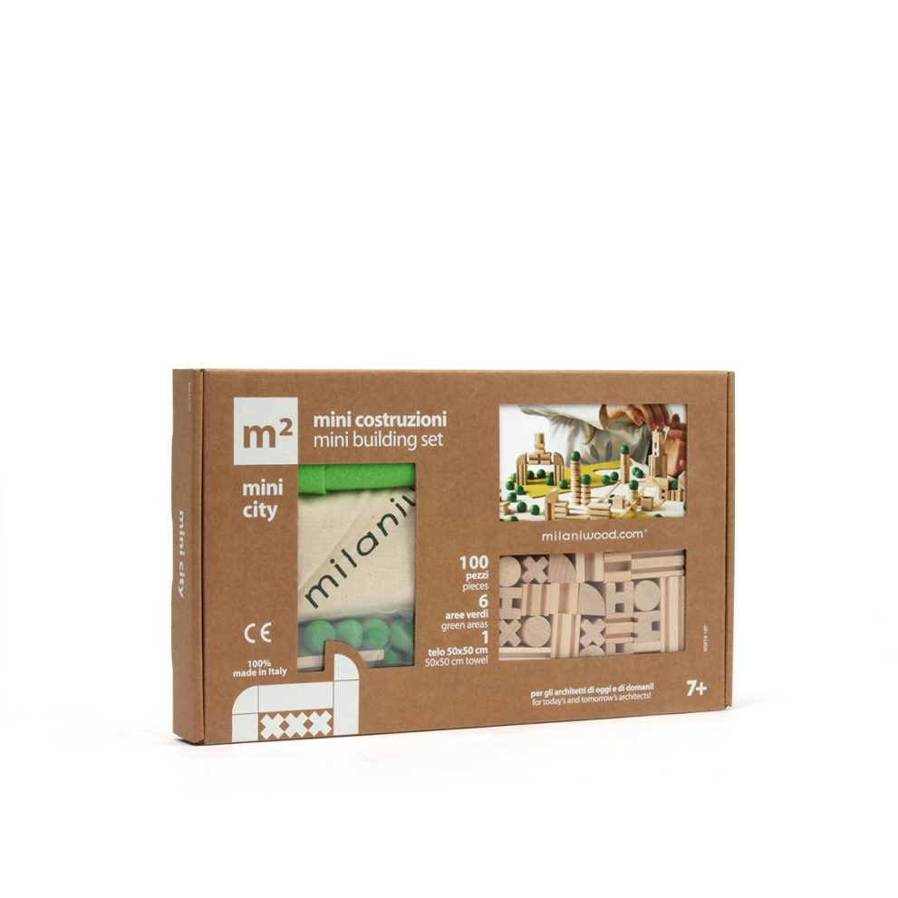 milaniwood m2 city mini building set