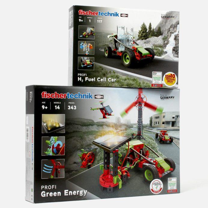 Fischertechnik Green Energy + H₂ Fuel Cell Car