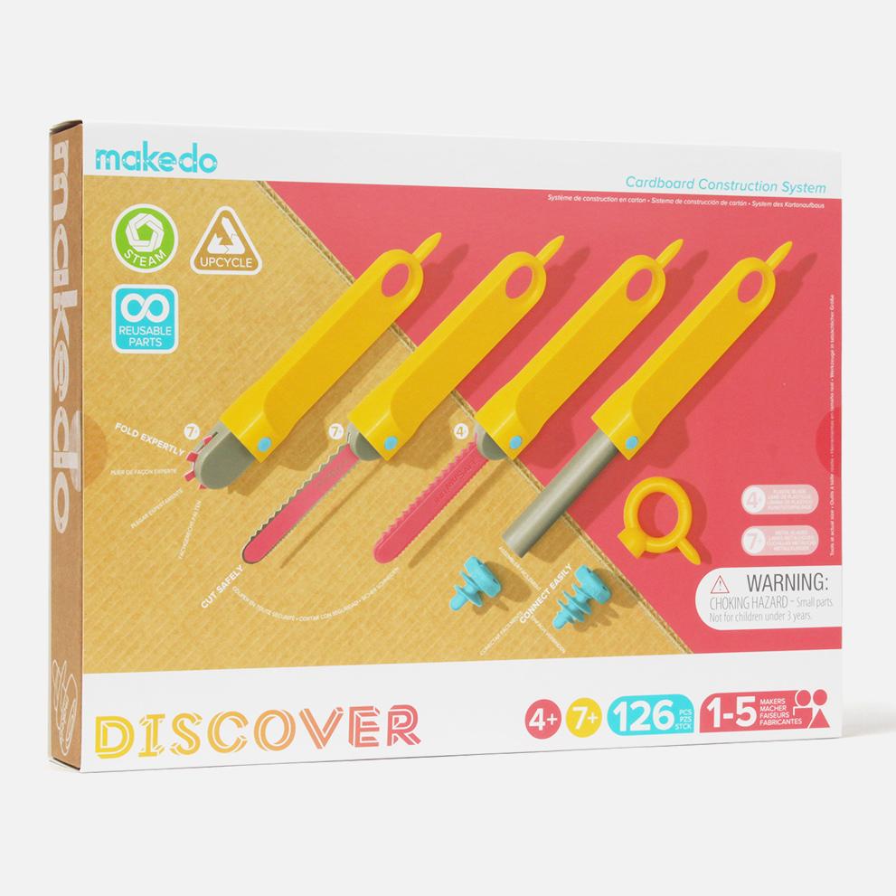 Makedo Discover 4+/7+